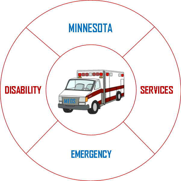 Minnesota Emergency Disability Services Logo